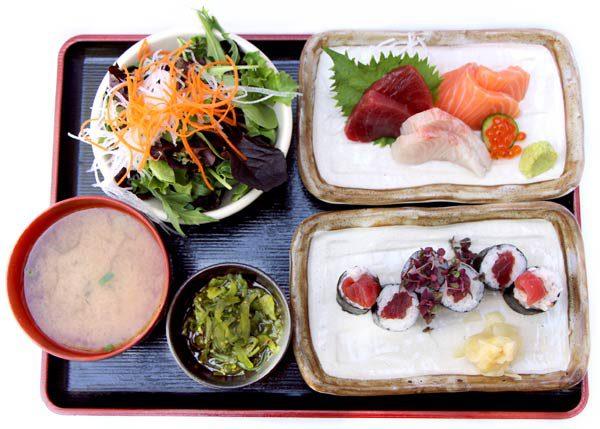 Roll & Sashimi -$23